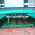 loading hydraulic steel loading dock truck ramp